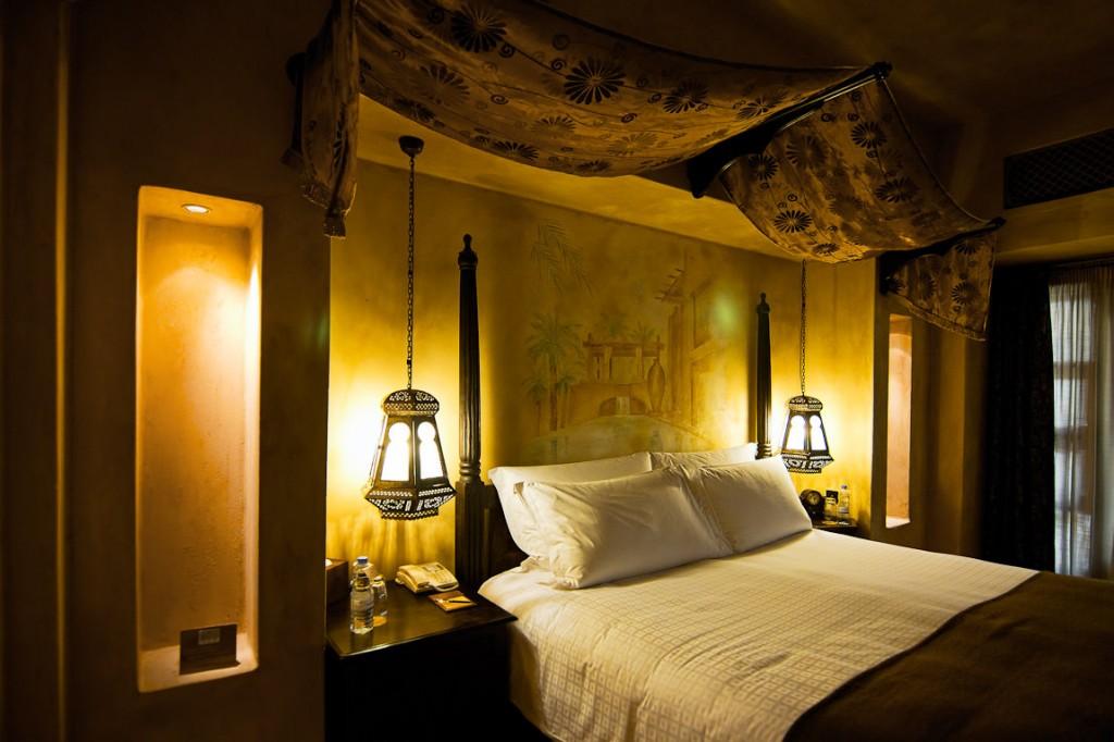 Bab al shams suite bedroom